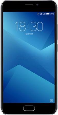 """Смартфон Meizu M5 Note серый черный 5.5"""" 32 Гб LTE Wi-Fi GPS 3G MCO00050070"""