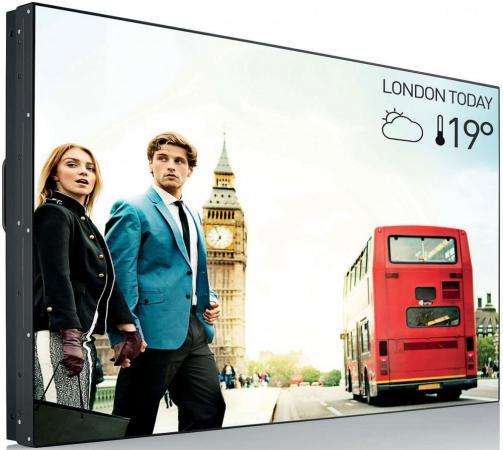 "лучшая цена Телевизор LED 55"" Philips BDL5588XC/02 черный 1920x1080 VGA DisplayPort RJ-45 RS-232C RCA"