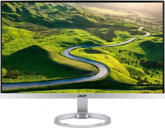 """Монитор 27"""" Acer H277HKSMIPUZ серебристый белый IPS 3840x2160 350 cd/m^2 4 ms HDMI DisplayPort Аудио USB UM.HH7EE.027"""
