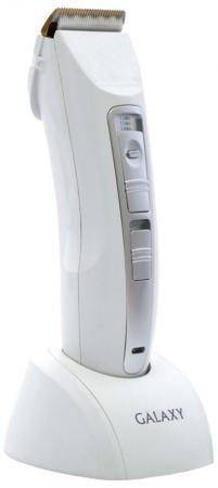 Машинка для стрижки волос GALAXY GL4153 белый серый цена и фото