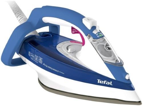 лучшая цена Утюг Tefal Aquaspeed FV5540 2600Вт белый синий