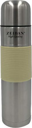 Термос Zeidan Z-9050 1л серебристый бежевый термос 1л essentials