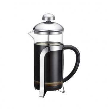 Френч-пресс Zeidan Z4140 чёрный прозрачный 0.35 л металл/стекло френч пресс zeidan
