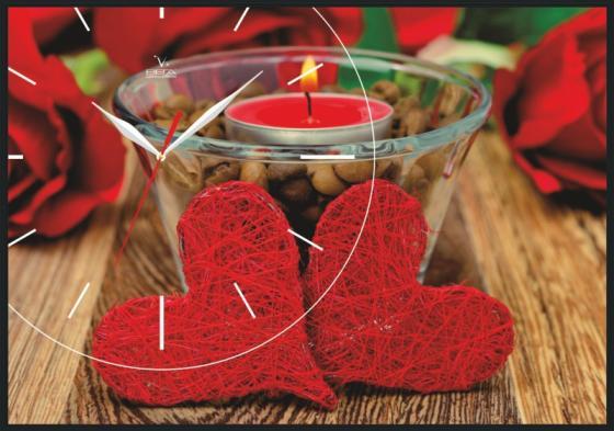 Часы настенные Вега КП-5 Любов рисунок васіліса трофимович любов на лінії вогню збірник