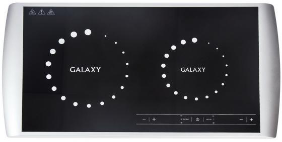 Индукционная электроплитка GALAXY GL3056 чёрный белый электроплитка tristar kp 6245 белый