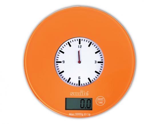 Весы кухонные Smile KSE 3264 оранжевый пароочиститель smile esc 922