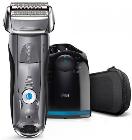 Бритва Braun Series 7 7865cc с блоком Clean&Charge чёрный 7865cc бритва braun mobileshave m90 серебристый чёрный