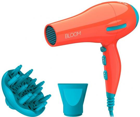Фен GA.MA Flow Ion Bloom 2200Вт оранжевый GH2420