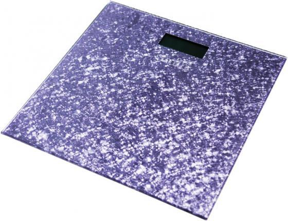 Весы напольные Smile PSE 3223 фиолетовый рисунок коляска прогул alf i smile line al 04 серый фиолетовый