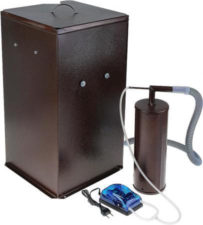 Коптильня бытовая холодного копчения дымогенератор+большая емкость Дым Дымыч 01Б