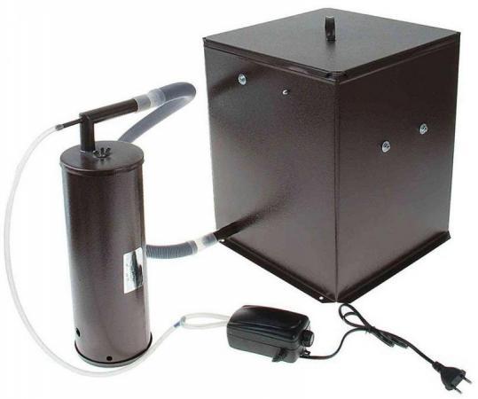 Коптильня бытовая холодного копчения дымогенератор+емкость Дым Дымыч 01М коптильня узби дым дымыч 01