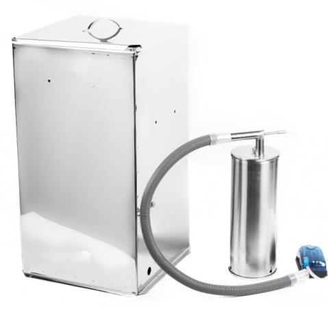 Коптильня холодного копчения Дым Дымыч 02Б дымогенератор+емкость 50 л коптильня узби дым дымыч 01