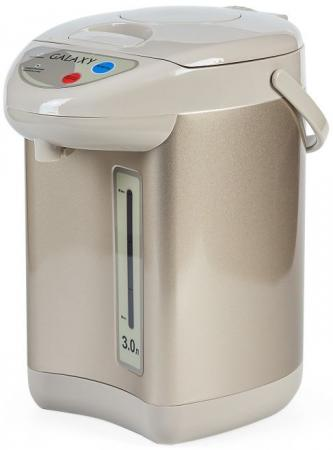 Термопот GALAXY GL0608 900 Вт бежевый 3 л металл/пластик термопот supra tps 3016 730 вт 4 2 л металл серебристый