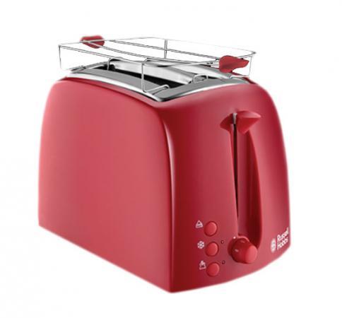 Тостер Russell Hobbs 21642-56 Textures Red красный тостер russell hobbs 21642 56 textures red красный