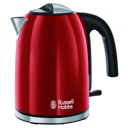Чайник Russell Hobbs COLOURS PLUS FLAME RED 2400 Вт красный 1.7 л металл 204-12-70