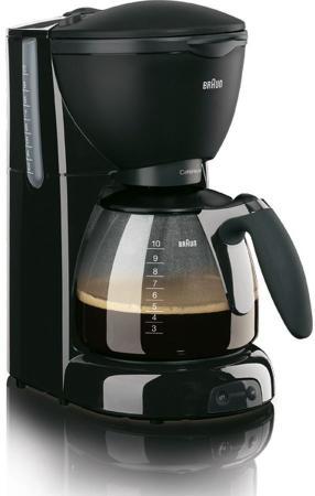 Кофеварка Braun KF 560/1 1100 Вт черный триммер braun fg 1100 silkfinish