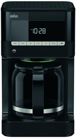 Кофеварка Braun НОВИНКА Есть в наличии 1000 Вт черный KF 7020