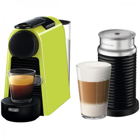 Кофемашина DeLonghi EN 85 LAE Nespresso 1800 Вт зеленый кофемашина nespresso delonghi en 560 b nespresso lattissima touch animation
