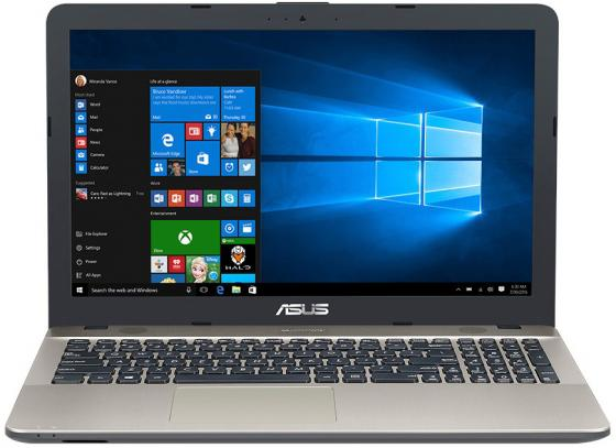 Ноутбук ASUS VivoBook Max X541NA-GQ559 15.6 1366x768 Intel Celeron-N3350 1 Tb 4Gb Intel HD Graphics 500 черный Endless OS 90NB0E81-M10310 ноутбук acer aspire es1 732 c1wd 17 3 1600x900 intel celeron n3350 500 gb 4gb intel hd graphics 500 черный windows 10 home