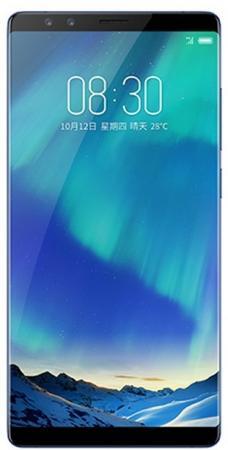 Смартфон ZTE Nubia Z17S синий 5.73 128 Гб LTE Wi-Fi GPS 3G смартфон zte nubia z17 lite синий золотистый 5 5 64 гб lte nfc wi fi gps 3g