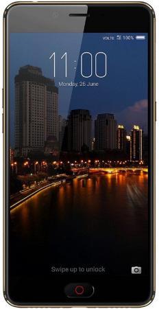 Смартфон ZTE Nubia N2 черный золотистый 5.5 64 Гб LTE Wi-Fi GPS 3G мобильный телефон zte n1 золотистый