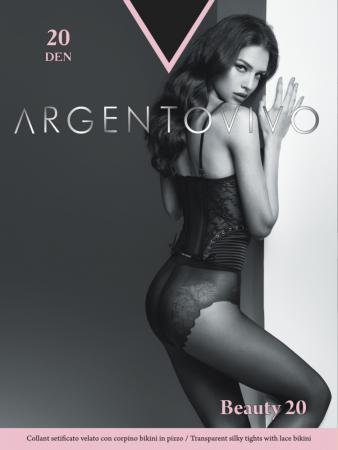 Колготки Argentovivo Beauty 3 20 den черный колготки argentovivo activity 5 40 den черный