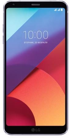 Смартфон LG G6 фиолетовый 5.7 64 Гб NFC LTE Wi-Fi GPS 3G LGH870DS.ACISVI смартфон lg g7 thinq 64 гб черный g710emv