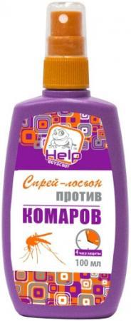 Спрей-лосьон Help Против комаров 100 мл 80510 help