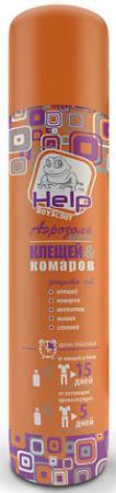 Аэрозоль Help От клещей и комаров 75 мл 80221 help