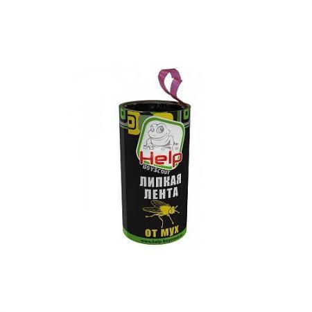 HELP BOYSCOUT Липкая лента для мух 400/100 средство защиты от мух boyscout 80242 help клеевая оконная ловушка