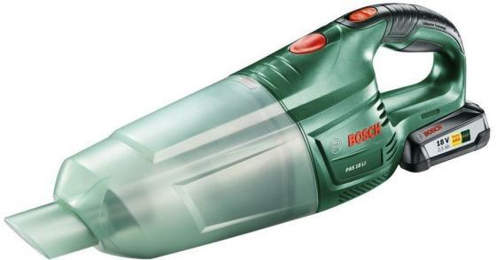 Автомобильный пылесос Bosch PAS 18 LI Set сухая уборка зелёный 06033В9002 автомобильный пылесос bosch pas 18 li set сухая уборка зелёный 06033в9002