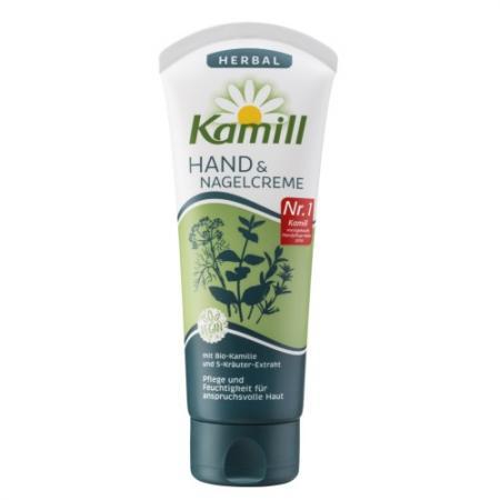Крем для рук и ногтей Kamill Пять трав 100 мл 24 часа kamill крем для рук и ногтей sensitive 75 мл