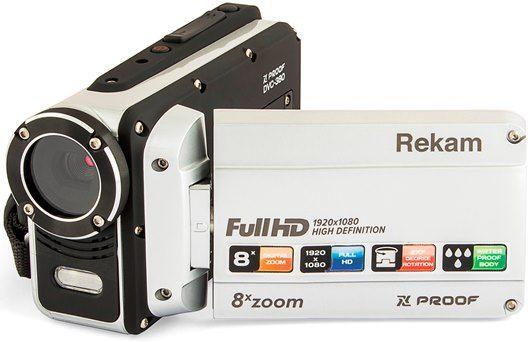 Цифровая видеокамера Rekam DVC-380 серебристый