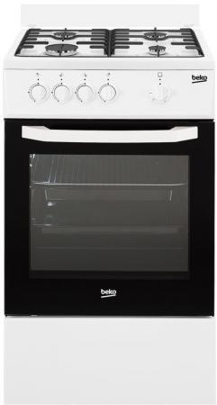Комбинированная плита Beko FFSG52000W белый комбинированная плита smeg tr 4110 ro