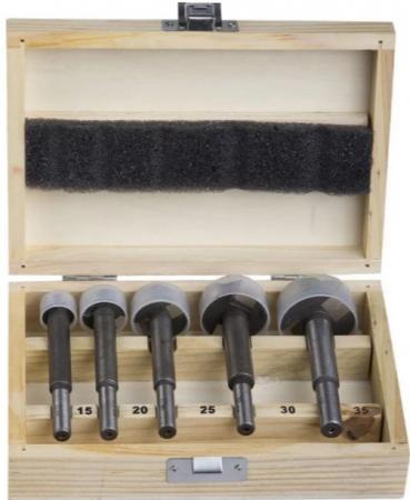 Набор сверл STAYER MASTER 29985-H5 Форстнера 15-20-25-30-35мм 5шт. набор пневмоинструмента stayer master 06487 h5