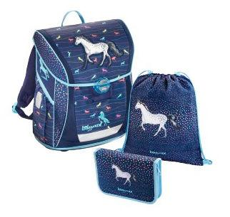 Ранец Step by Step BaggyMax Fabby Modern Horse 18 л синий cook it step by step