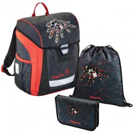 Ранец светоотражающие материалы Step by Step BaggyMax Trikky Dark Spider 18 л черный рисунок 00138653