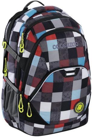 Рюкзак светоотражающие материалы Coocazoo EvverClevver2 Checkmate 30 л синий красный 00129871 цена и фото