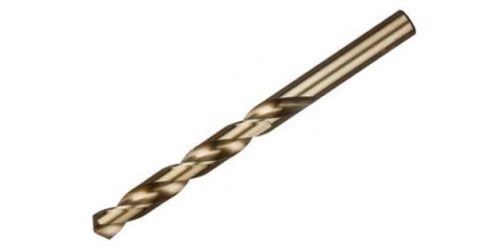 Купить Сверло по металлу ЗУБР 4-29626-040-1.5 ЭКСПЕРТ КОБАЛЬТ стальP6M5к5 классА1 1.5х40мм, Зубр