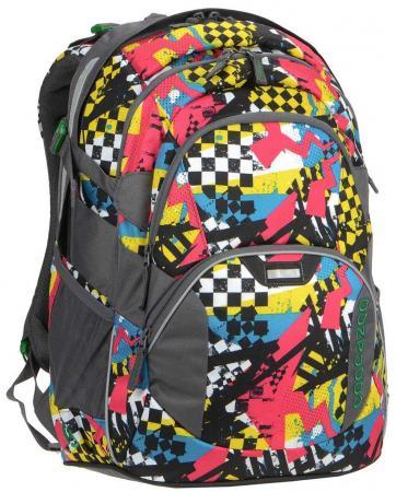 Рюкзак светоотражающие материалы Coocazoo JobJobber2 Checkered Bolts 30 л рисунок 00129887 рюкзак светоотражающие материалы coocazoo jobjobber2 checkered bolts 30 л рисунок 00129887
