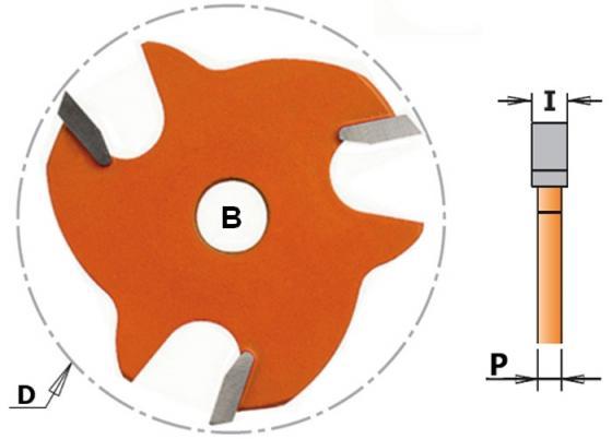 Фреза CMT 822.350.11 пазовая диск Z3 F=8 D=47.6x5 фреза cmt 712 030 11 пазовая монолитная s 6 d 3x11x60