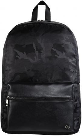 """Рюкзак для ноутбука 14"""" HAMA """"Mission Camo"""" полиэстер полиуретан черный камуфляж 00101598"""