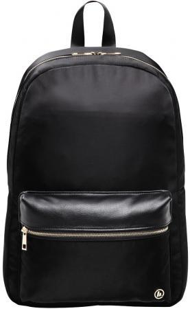 """Рюкзак для ноутбука 14"""" HAMA """"Mission"""" полиэстер полиуретан черный золотистый 00101588"""