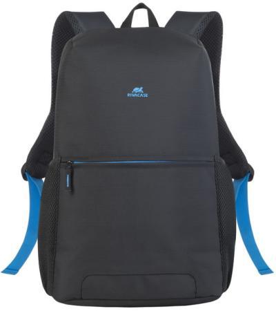 """Рюкзак для ноутбука 15.6"""" Riva 8067 полиэстер черный"""