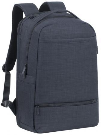 Рюкзак для ноутбука 17.3 Riva 8365 полиэстер черный riva 9101 ultraviolet