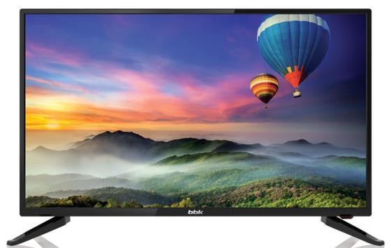 Телевизор LED 32 BBK 32LEM-1056/TS2C черный 1366x768 50 Гц VGA USB HDMI телевизор led 39 bbk 39lem 1033 ts2c черный 1366x768 usb vga