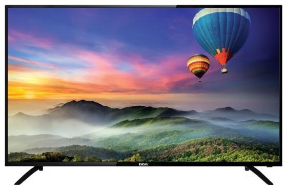 """цена на Телевизор LED 50"""" BBK 50LEM-1056/FTS2C черный 1920x1080 50 Гц VGA USB"""