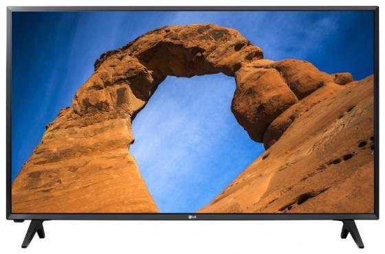 Телевизор 32 LG 32LK500B черный 1366x768 50 Гц USB телевизор 32 lg 32lj500v черный 1920x1080 50 гц usb
