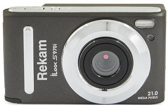 Цифровая фотокамера Rekam iLook S970i 21 Mpx 3 LCD серый rekam ilook s750i gold