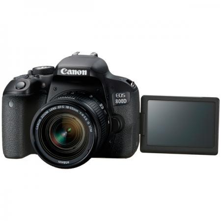 Зеркальная фотокамера Canon EOS 800D EF-S 18-55mm 24Mp черный 1895C002 зеркальная фотокамера canon eos 700d kit 18 55 is stm 18 5mp черный